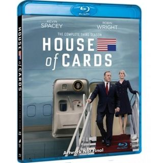 House Of Cards - Season 3 Blu-Ray