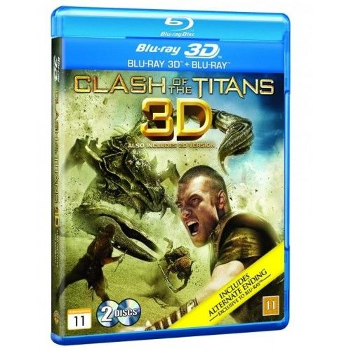 Clash Of The Titans - 3D Blu-Ray