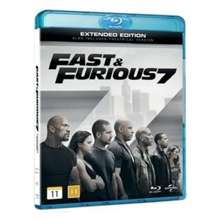 The Fast & The Furious 7 Blu-Ray