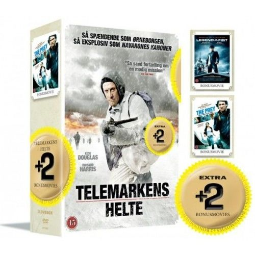 Telemarkens Helte+ Bonus Movie