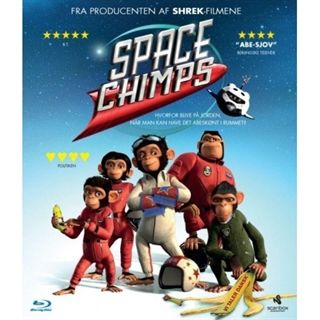 Space Chimps Blu-Ray