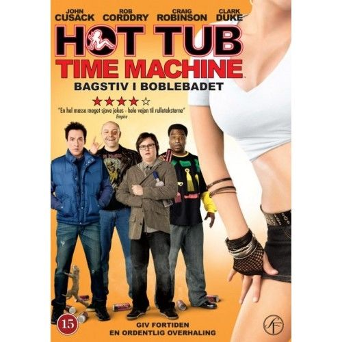 Hot Tub Time Machine - Bagstiv I Boblebadet