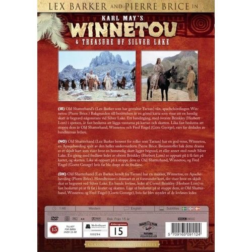 Karl May\'s Winnetou Collection 3 -Treasure Of Silver Lake