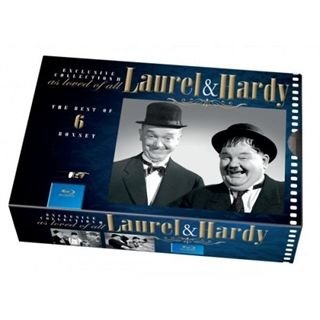 Laurel & Hardy Collection BD  6 disc
