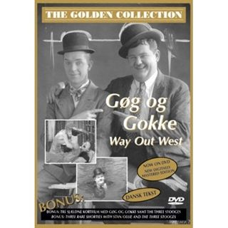 Golden Collection: Gøg og Gokke, Way Out West