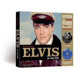 Elvis - På Nært Hold Box - Bog + CD