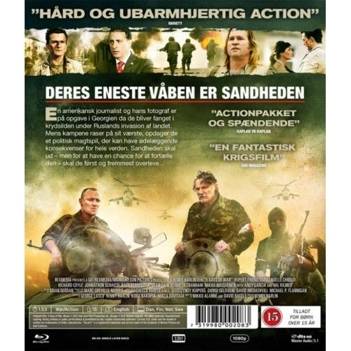 5 Days Of War Blu-Ray