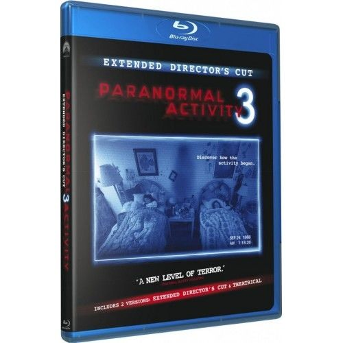 Paranormal Activity 3 Blu-Ray