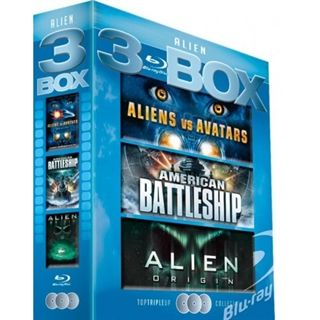 Alien Box - 3 Blu-Ray