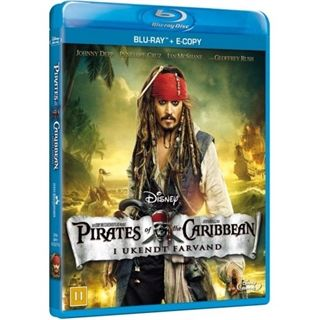 Pirates Of The Caribbean 4 - I Ukendt Farvand Blu-Ray