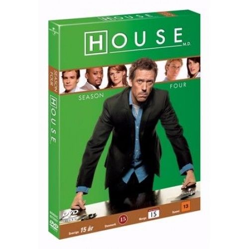 House MD - Sæson 4 (DVD)