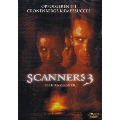 Scanners 3 - The Takeover (DVD