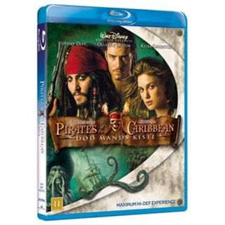 Pirates Of The Caribbean 2 - Død Mands Kiste Blu-Ray