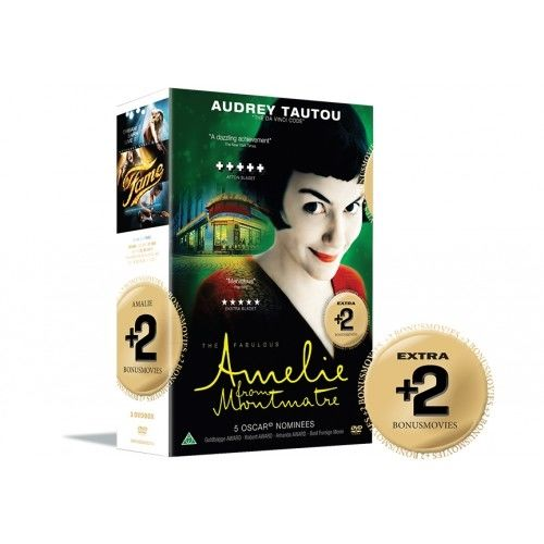 Amelie + Bonus Movies