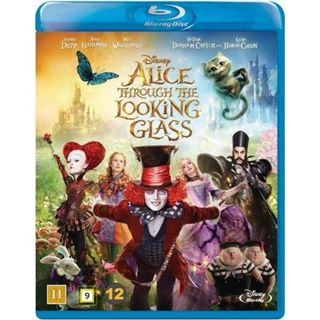 Alice In Wonderland 2 - Through The Looking Glass Blu-Ray