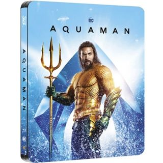 Aquaman - Steelbook - 3D Blu-Ray