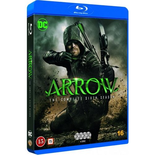 Arrow - Season 6 Blu-Ray