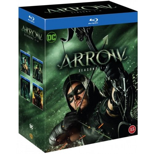 Arrow - Season 1-4 Blu-Ray