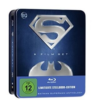 Batman Og Superman Anthology Blu-Ray