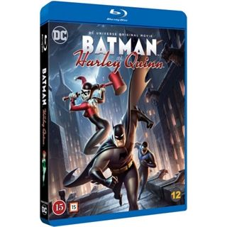 Batman And Harley Quinn Blu-Ray