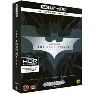 The Dark Knight Trilogy - 4K Ultra HD Blu-Ray
