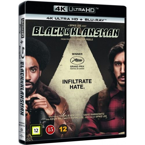 Black K Klansman - 4K Ultra HD Blu-Ray