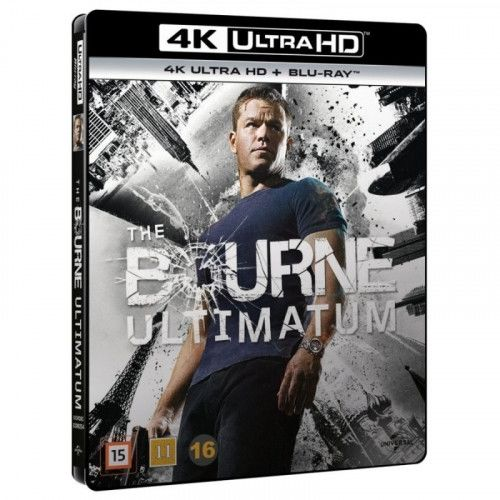 Bourne Ultimatum - 4K Ultra HD Blu-Ray