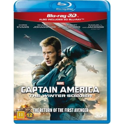 Captain America - The Winter Soldier - 3D Blu-Ray