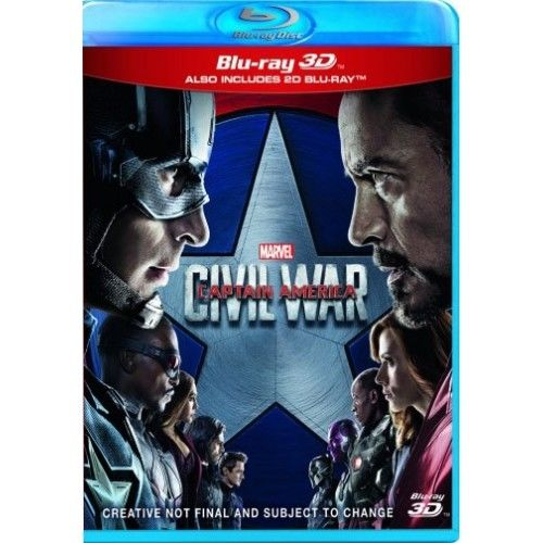 Captain America - Civil War 3D Blu-Ray