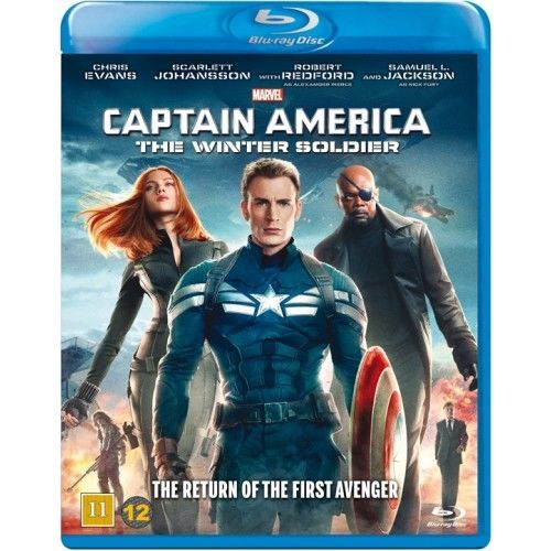 Captain America - The Winter Soilder Blu-Ray