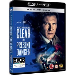 Clear And Present Danger - 4K Ultra HD Blu-Ray