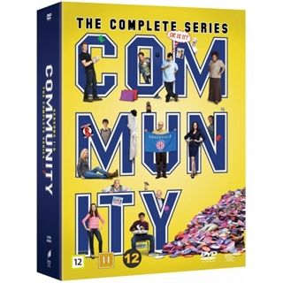 Community - Season 1-6 Box