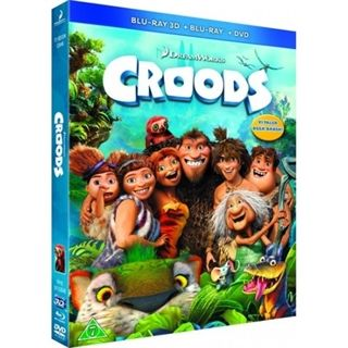 Croods - 3D Blu-Ray