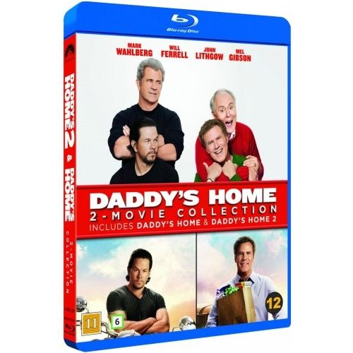 Daddy\'s Home 1-2 Blu-Ray Box
