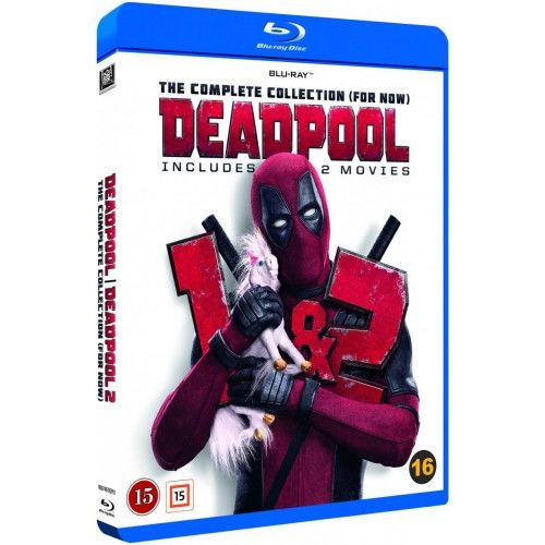 Deadpool 1-2 Blu-Ray