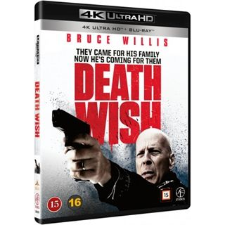 Death Wish - 4K Ultra HD Blu-Ray