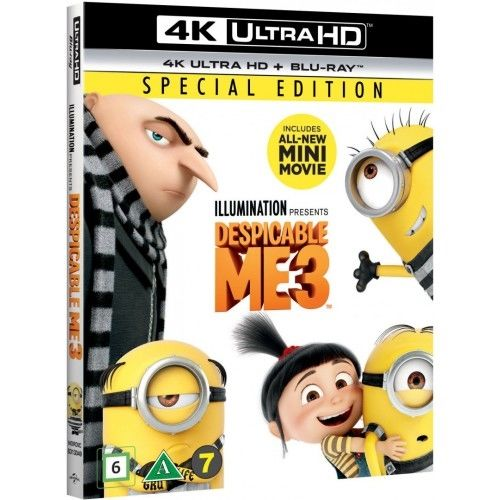 Despicable Me 3/Grusomme Mig 3 - 4K Ultra HD Blu-Ray