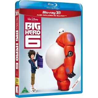 BIG HERO 6 2D + 3D BD