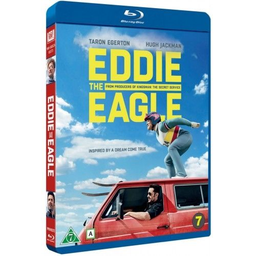 EDDIE THE EAGLE Blu-Ray
