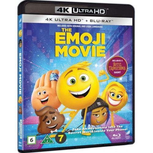 Emoji Filmen - 4K Ultra HD Blu-Ray