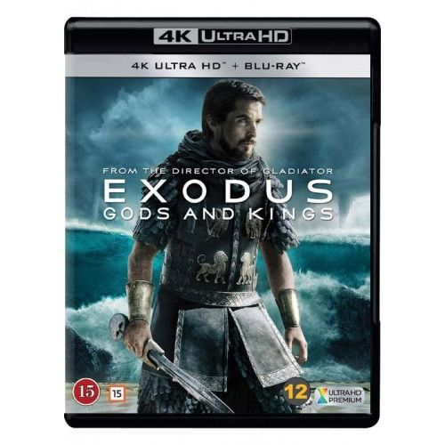 Exodus - Gods And Kings - 4K Ultra HD Blu-Ray