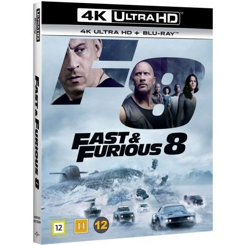 The Fast & The Furious 8 - 4K Ultra HD Blu-Ray