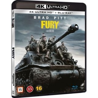 Fury - 4K Ultra HD Blu-Ray