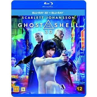 Ghost In The Shell 3D Blu-Ray