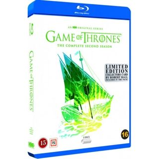 Game Of Thrones -Season 2 Blu-Ray - Robert Ball Edition