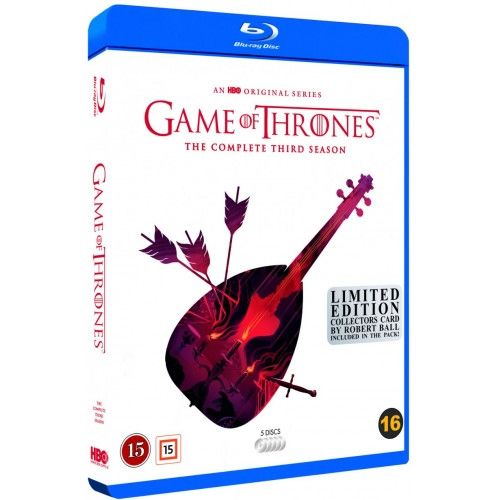 Game Of Thrones  - Season 3 Blu-Ray - Robert Ball Edition
