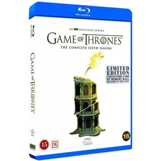 Game Of Thrones -Season 6 Blu-Ray - Robert Ball Edition