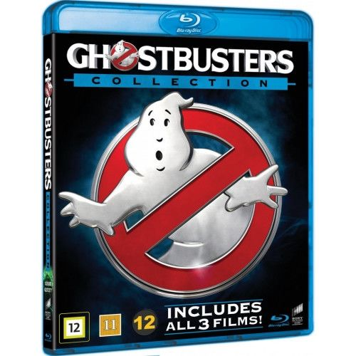 Ghostbusters 1-3 Blu-Ray Box