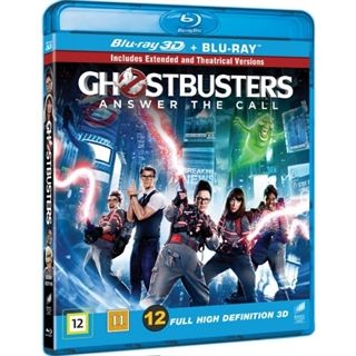 GHOSTBUSTERS 2016 3D BD