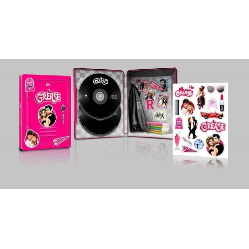 Grease 1-2 - 40Th Anniversary Steelbook Blu-Ray